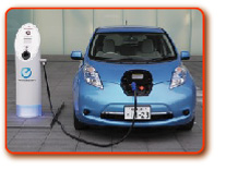 電気自動車(日産リーフ)
